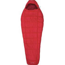 VAUDE Sioux 800 Syn Slaapzak en Inlet, dark indian red